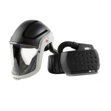 3M M-Series Face Shield & Safety Helmet M-307 with Adflo PAPR (890307)