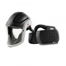 3M M-Series Face Shield & Safety Helmet M-307 with Heavy-Duty Adflo PAPR (890307HD)