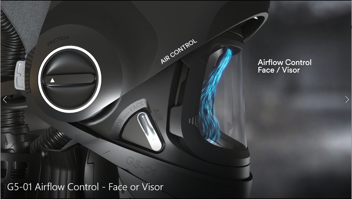G5-01 Airflow - Face or Visor?