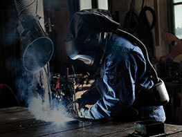 Welders' Powered Air Respiratory Protection